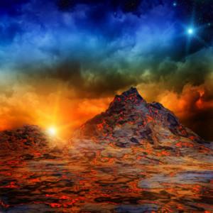 Vulkane und gigantische Erdverschiebungen der Eiszeit werden für Gesteinsverwerfungen verantwortlich gemacht, die Erdstrahlen aussenden, welche unter Umständen Krankheiten verursachen können.