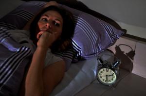 Seelischer Stress kann zu Schlafstörungen führen