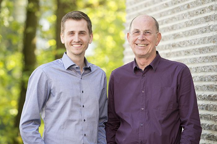Die Geschäftsführer: Neel Neubersch (li.) und Richard Neubersch