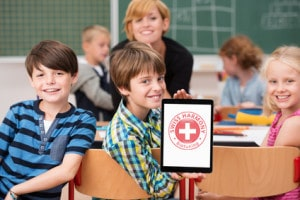 Swiss Harmony offers free harmonizations in schools. This help with the dangers of Wifi